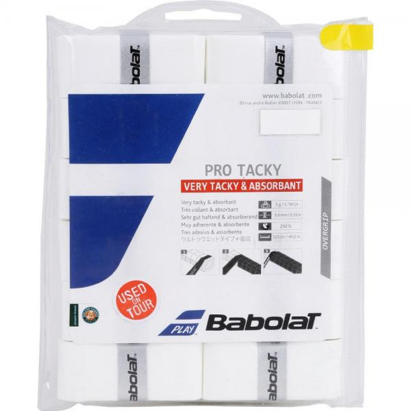 Overgrip Babolat Pro Team Tacky x12