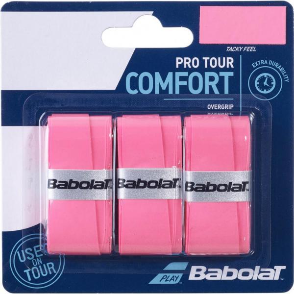 OVERGRIP BABOLAT PRO TOUR X3 Pink