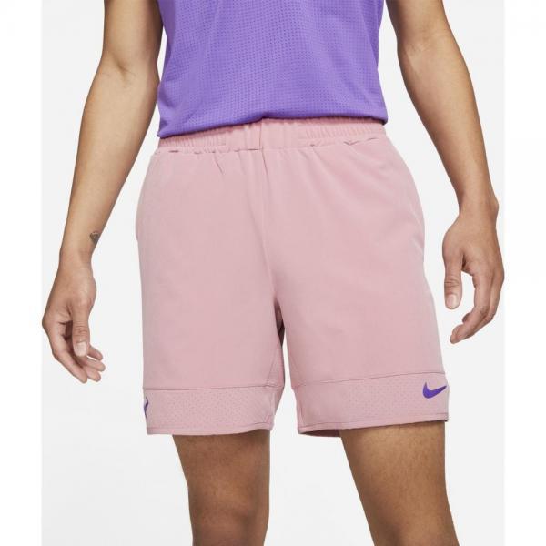 Pantaloni Nike Court Dri-FIT ADV Rafa Pink/Wild Berry