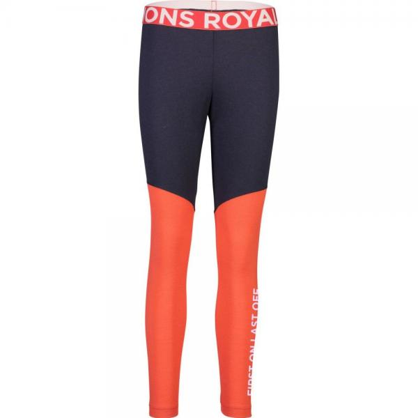 Pantaloni termici Mons Royale Christy Legging 9 Iron / Poppy