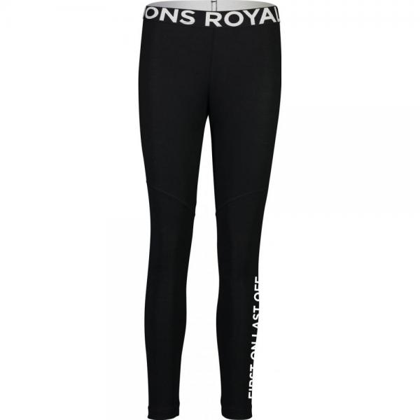 Pantaloni termici Mons Royale Christy Legging Black