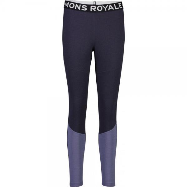 Pantaloni termici Mons Royale Olympus 3.0 Legging 9 Iron