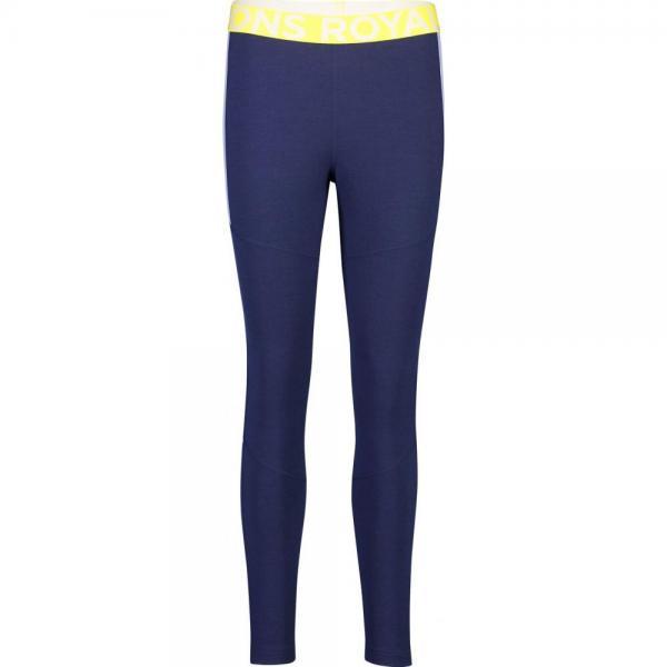 Pantaloni termici Mons Royale Olympus 3.0 Legging Navy / Blue Fog