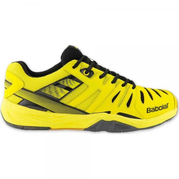 Pantofi Babolat Shadow Club Indoor Yellow