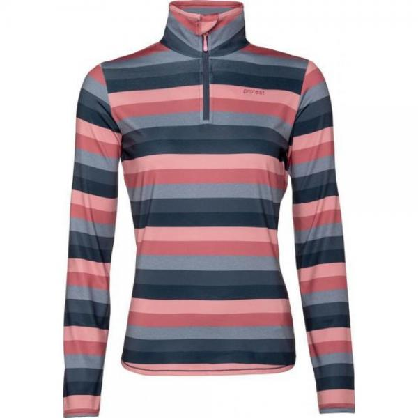 Protest Every 1/4 Zip Top Pink
