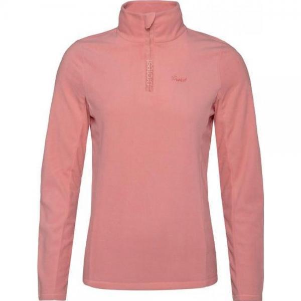 Protest Mutey 1/4 Zip Top Light Pink