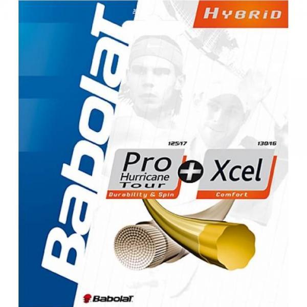 Racordaj Babolat Hybrid PRO HURRICANE TOUR + Xcel
