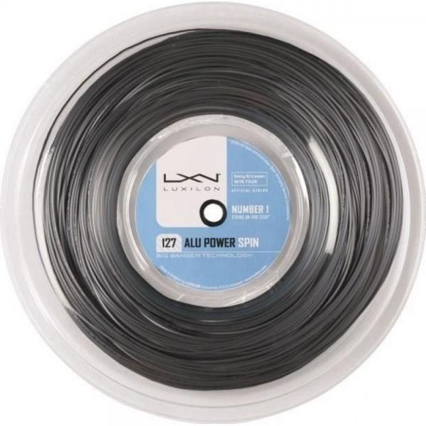 Racordaj Luxilon Alu Power Spin 127, 200m Grey