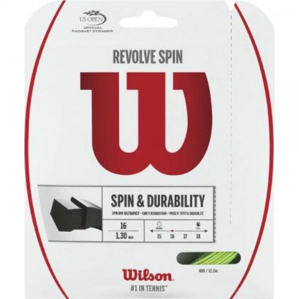 Racordaj Wilson Revolve Spin 1.30 Green