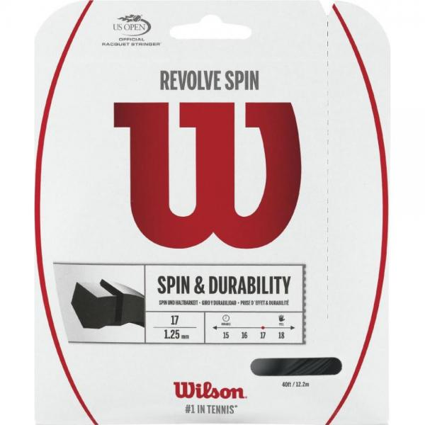 Racordaj Wilson Revolve Spin 17 Black