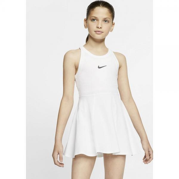 Rochia de tenis Nike Dry white