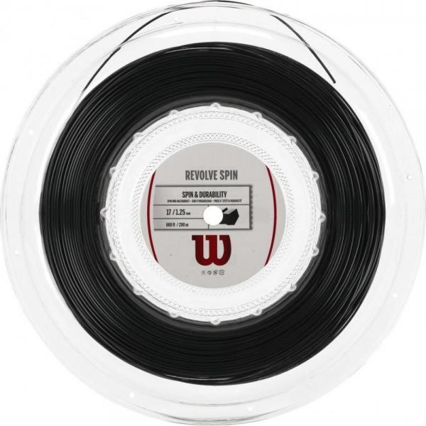 Rola racordaj Wilson Revolve Spin 17 negru