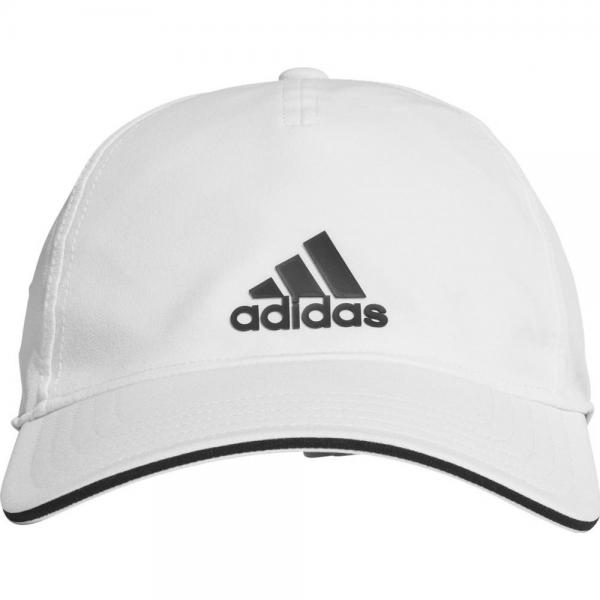 Sapca Adidas AEROREADY BB WHITE/BLACK Juniori