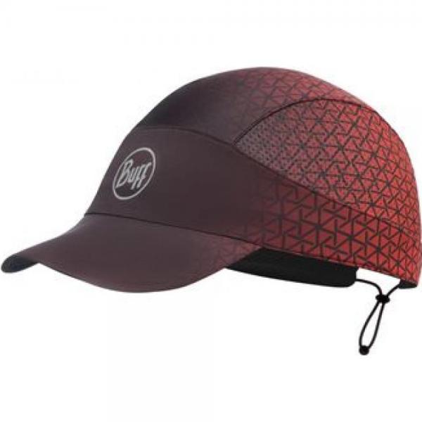 Sapca alergare BUFF PACK RUN CAP R-EQUILATERAL RED