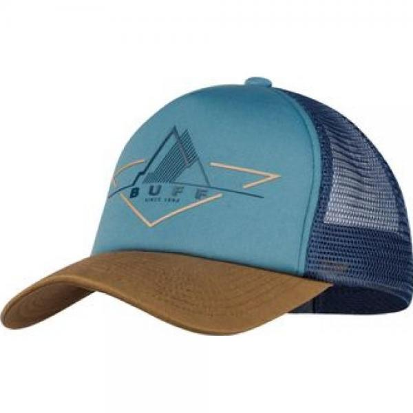 Sapca alergare BUFF TRUCKER CAP BRAK STONE BLUE