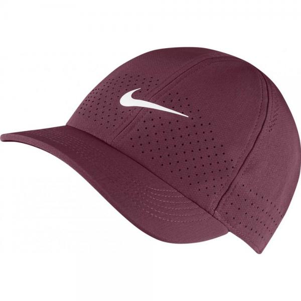 Sapca NIKE AERO DF ADVANTAGE Dark Beetroot