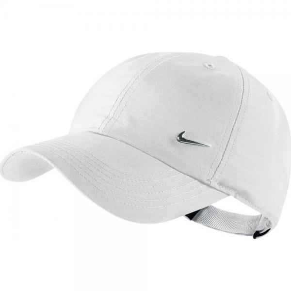 Sapca Nike Heritage 86 Metal Swoosh White