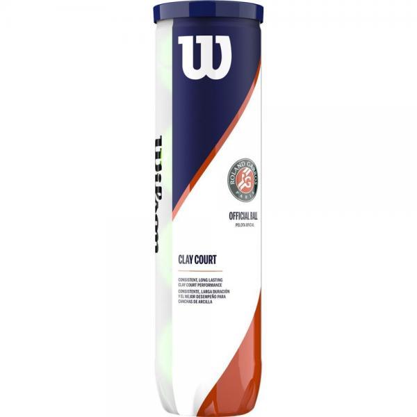 Set mingi tenis Wilson Roland Garros Clay 4 mingi/cutie