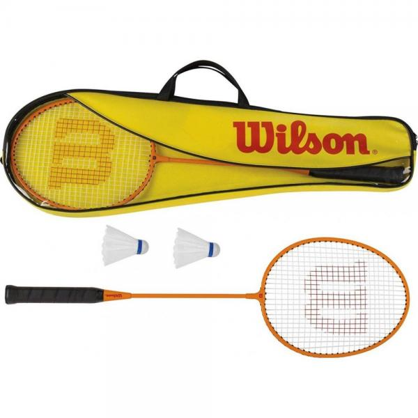 Set Wilson Badminton Gear Kit 2 Pcs