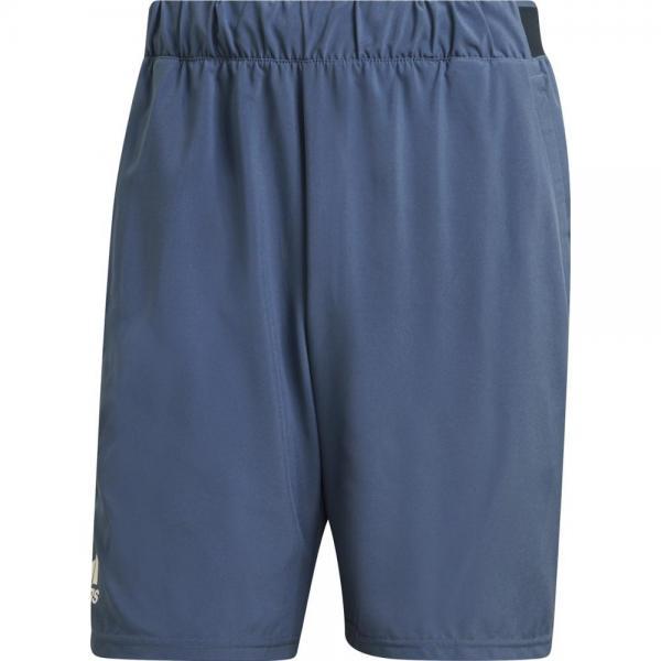 Short Adidas CLUB STRETCH-WOVEN BLUE 9 INCH
