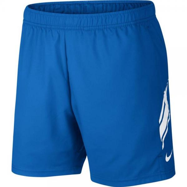 Short Nike Court Dry 7 Inch Blue