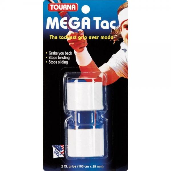 Tourna Overgrip Mega Tac White
