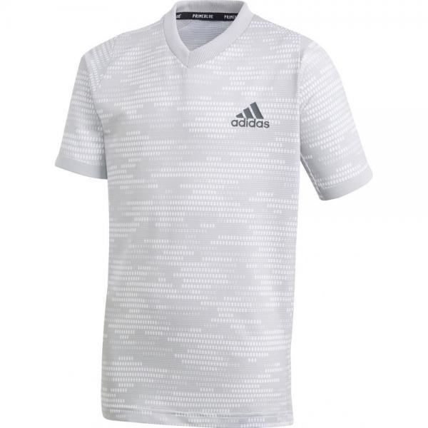 Tricou Adidas Parley FreeLift Primeblue JR Grey