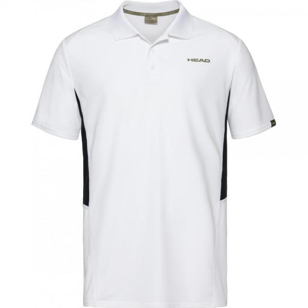 Tricou Head Club Tech Polo White
