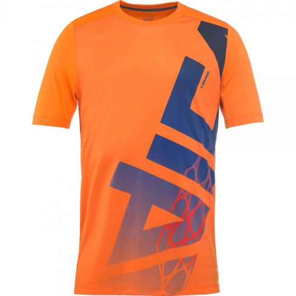 Tricou Head Vision Radical Jr Orange