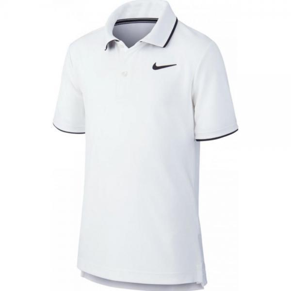 Tricou Nike B Court Dri-Fit polo Tee White