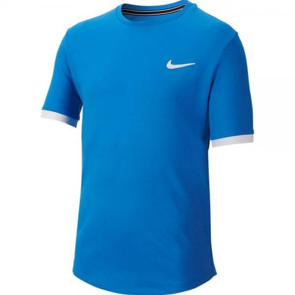Tricou Nike B Court Dry Tee Blue