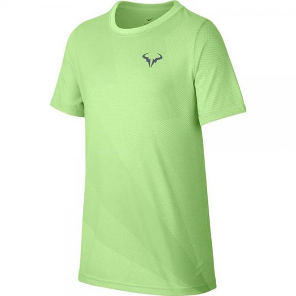 Tricou Nike Boys Court Rafa Graphic Tee Green