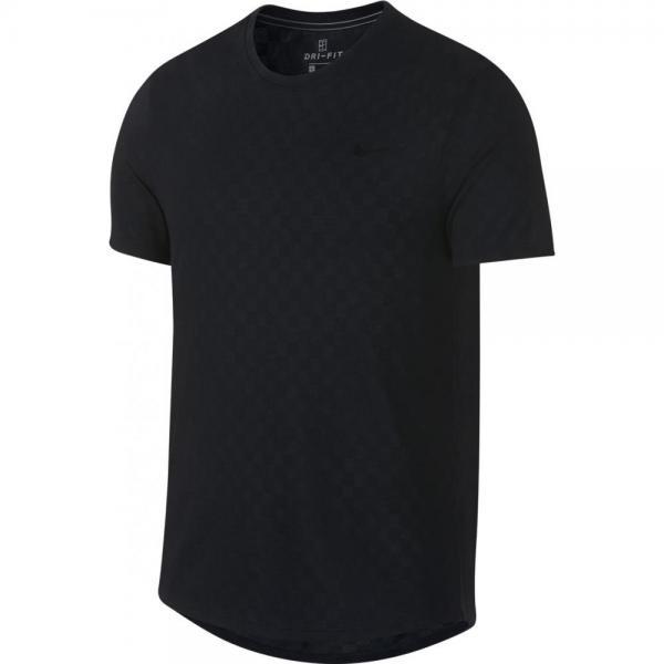 Tricou Nike Court Challenger Crew Black
