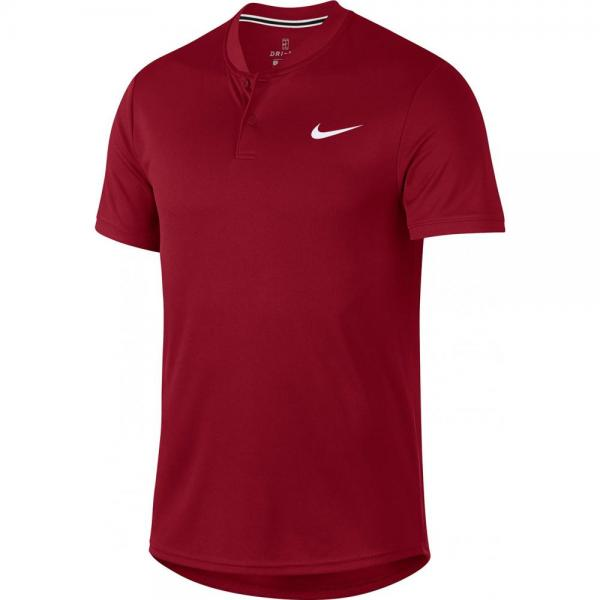 Tricou Nike Court Dry Blade Polo Red