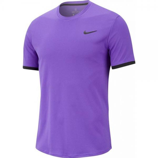 Tricou Nike Court Dry Crew Purple