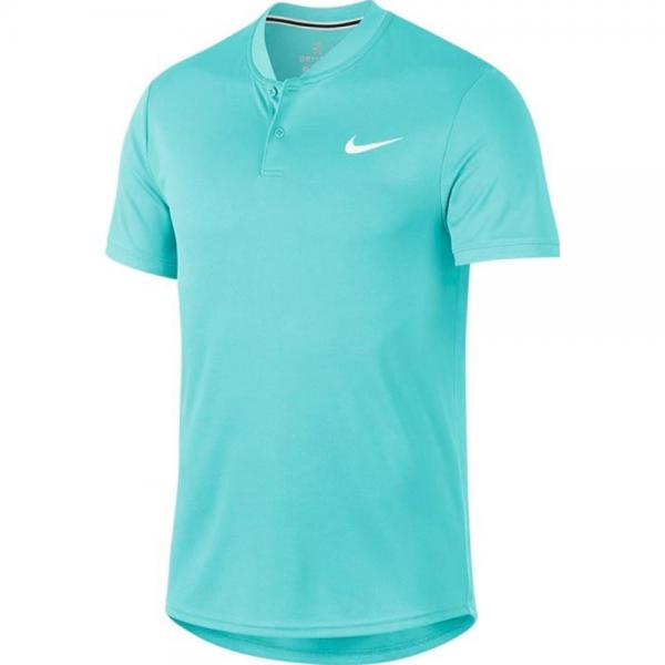 Tricou Nike Court Dry-Fit Polo Light Aqua