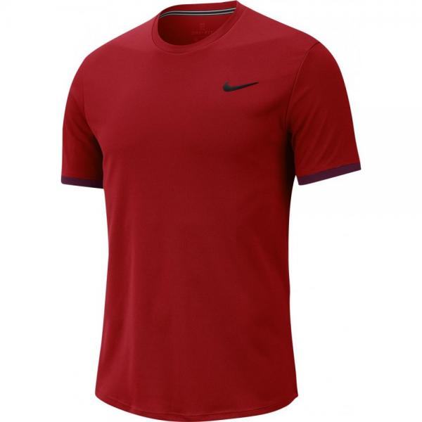 TRICOU NIKE MEN DRY TOP SS RED