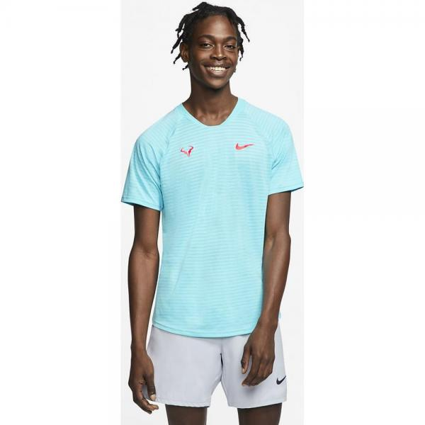 Tricou Nike Rafa Arorct Top SS Slam blue