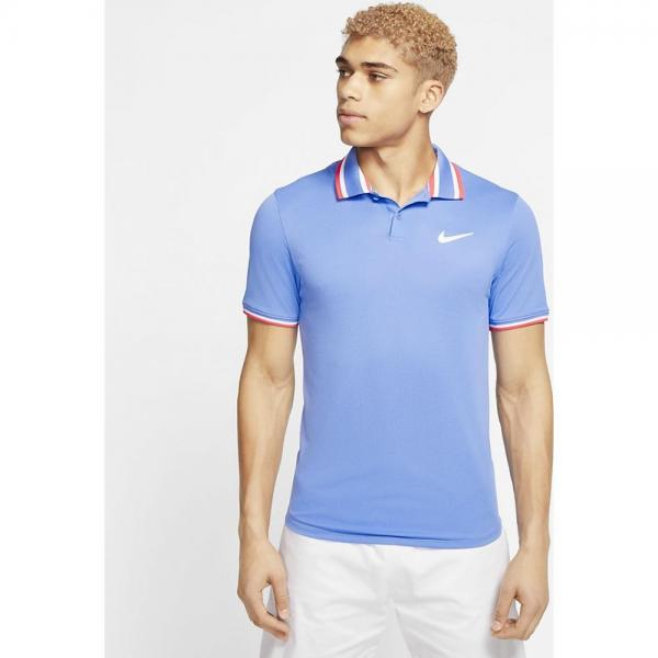 Tricou Nike Slam Polo blue