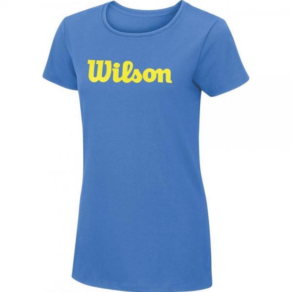 Tricou Wilson Script Cotton Tee Regatta